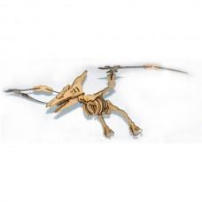 Quebra cabeça 3D - Pterossauro - Dinossauro em MDF