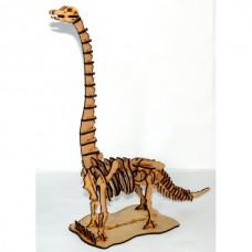 Quebra cabeça 3D - Jobaia - Dinossauro em MDF