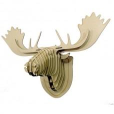 Cabeça de Alce - Escultura 3D - MDF