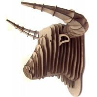 Cabeça de TOURO DE TOURADA- Escultura 3D - MDF
