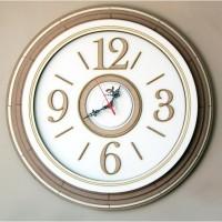 Relógio Redondo grande de parede em Madeira - MDF